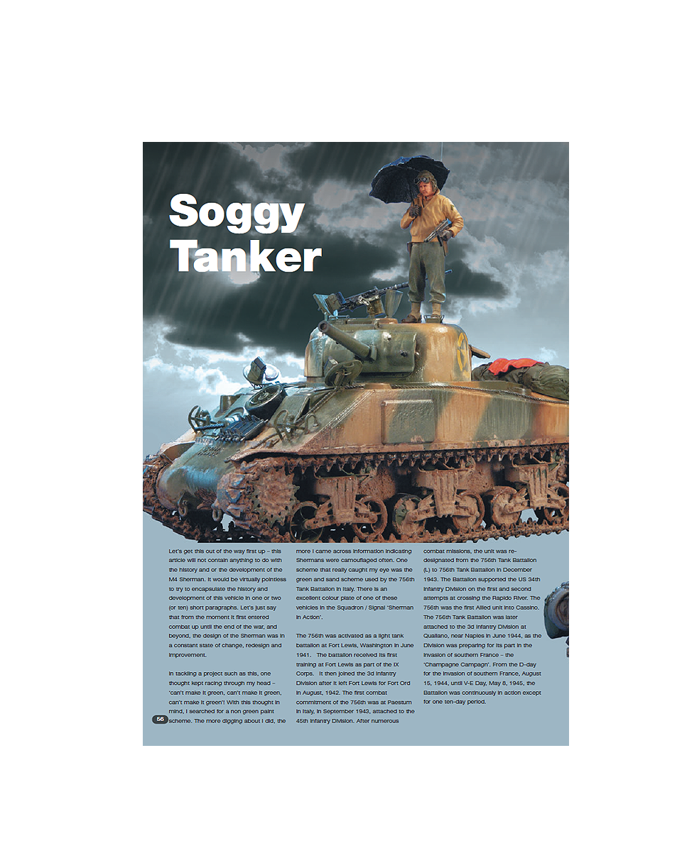 Issue 30: Soggy Tanker
