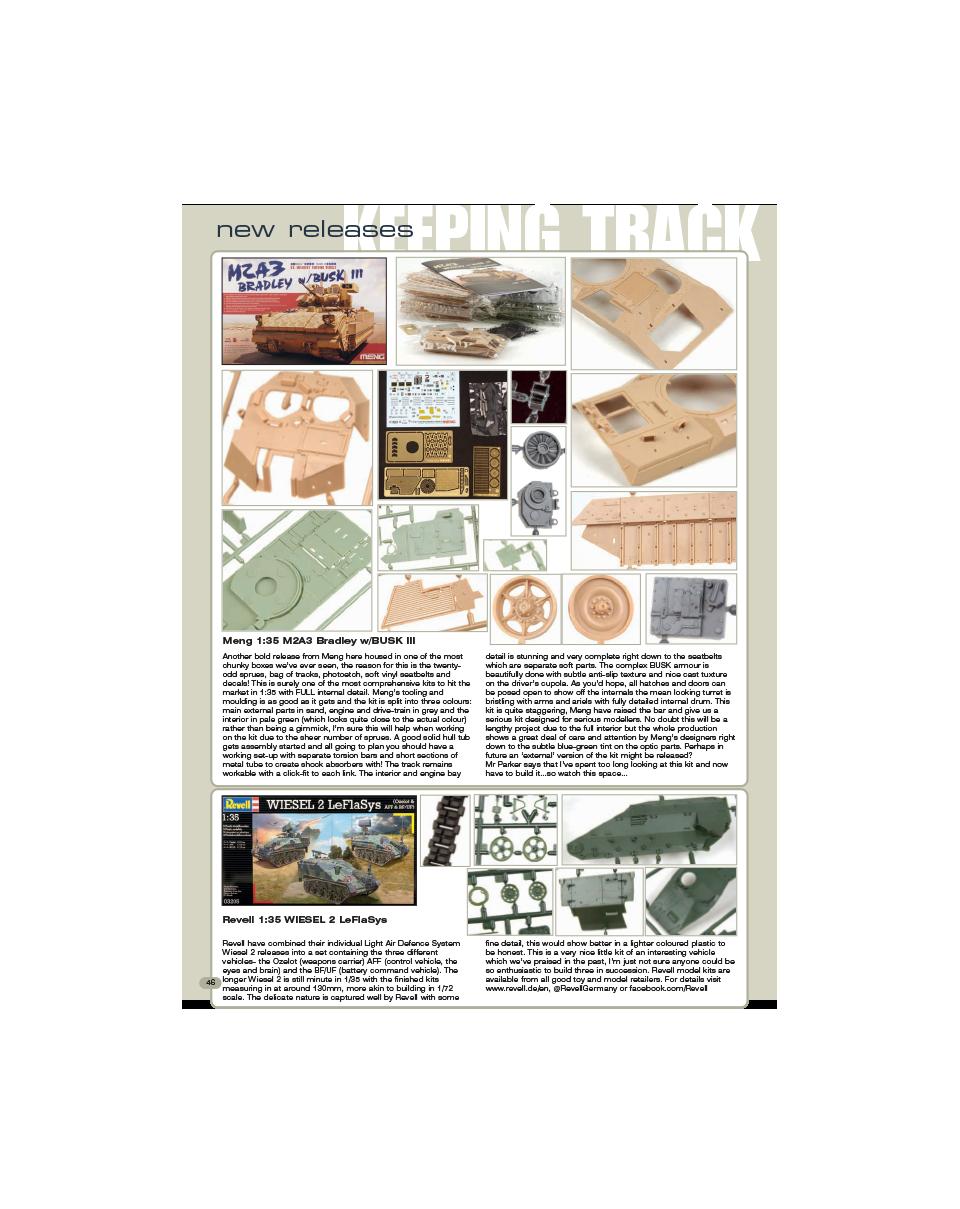 AFV75 – Keeping Track – AFV modeller